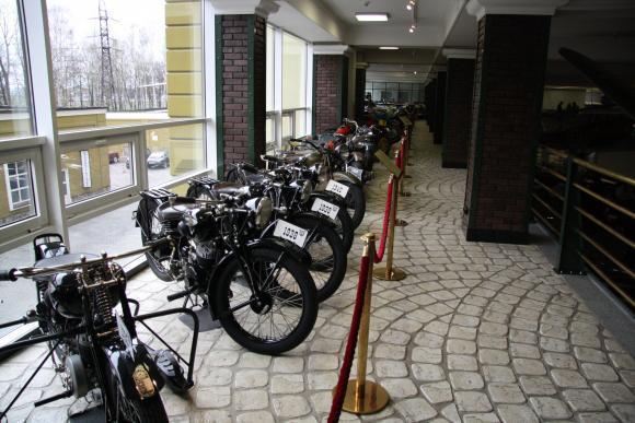 Немецкие мотоциклы времен войны на
