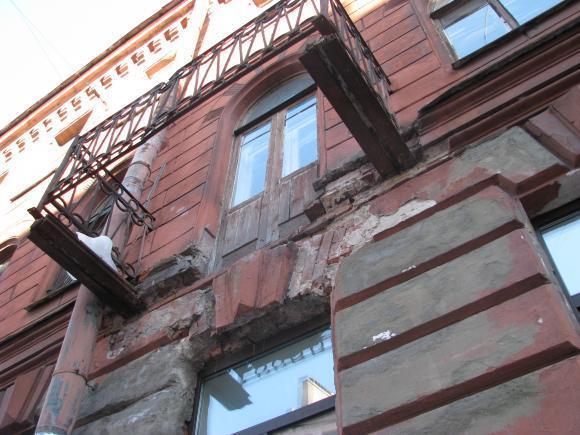 балкон обвалился энгельс летка