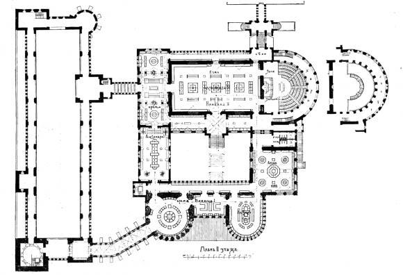 Главные помещения музея