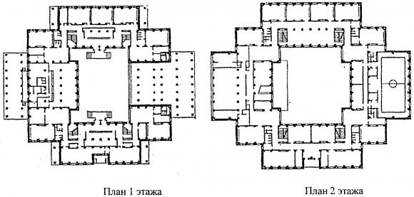 Схема планировки помещений.